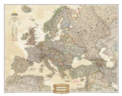 Europe Executive [Tubed] (National Geographic: