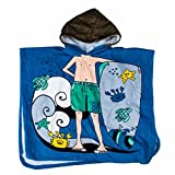 NAME IT zunny Mini Towel Boy 13082894 Dresden Blue Joven Poncho Moda
