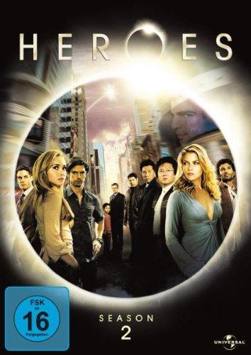 Heroes - Season 2 [4 DVDs]