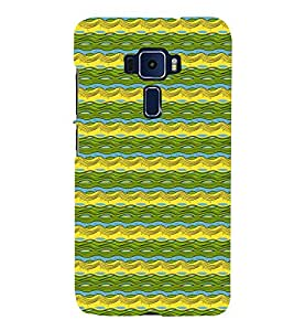 Abstract Painting Cute Fashion 3D Hard Polycarbonate Designer Back Case Cover for Asus Zenfone 3 ZE520KL (5.2 Inches)