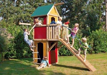 WINNETOO Spielturm Kletterturm bunt GP854