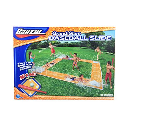 Buy Bargain Banzai Grand Slam Baseball Water Slide