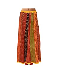 Sttoffa Womens Cotton Skirts -Multi-Colour -Free Size - B00MJO7KJE