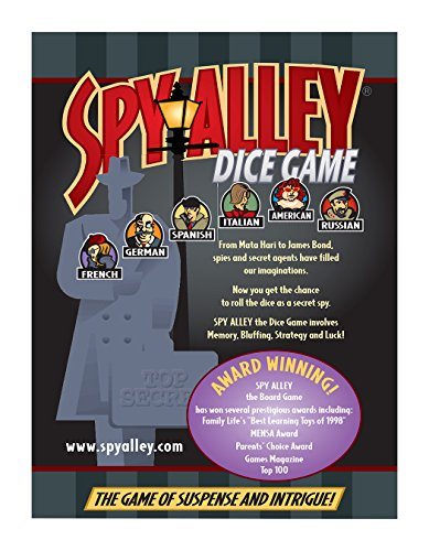 Spy Alley Dice Game - 1