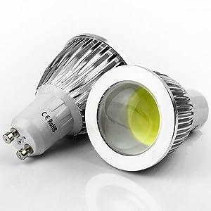 jonkey gu10 led cob spot down light lamp bulb 7w spotlight 220v white led household light. Black Bedroom Furniture Sets. Home Design Ideas