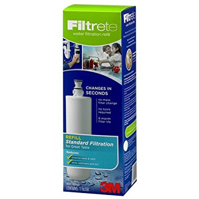 Filtrete by 3M 3US-PF01 Professional Faucet Water Replacement Filter Cartridge,