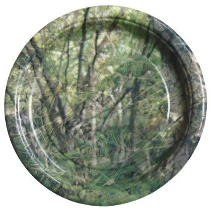 "Havercamp BB76802 Next Camo 7"" Plates-Round -8 Pack"