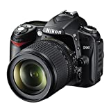 Nikon-D90-123MP-Digital-SLR-Camera-Black-with-AF-S-18-105mm-VR-Lens-and-AF-S-DX-NIKKOR-35mm-f1-Twin-Lens-Memory-Card-Camera-Bag