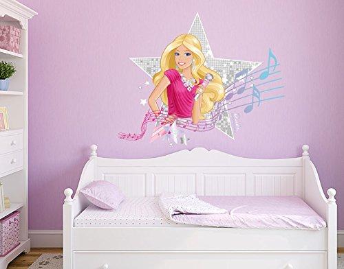 Klebefieber DS 1000-B Wandtattoo Barbie Musicstar B x H: 70cm x 54cm (erhältlich in 9 Größen) jetzt bestellen