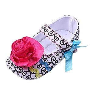Froomer Zapatos Moda Arco Olas del Satén Suave Zapatos Infantil Preandador Primeros Pasos por Froomer