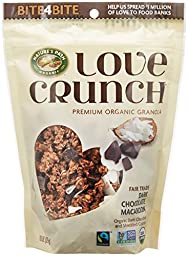 Nature\'S Path Love Crunch Premium Organic Granola Dark Chocolate Macaroon 11.5-Ounce