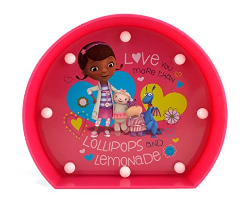 Disney WK318587 Doc Mcstuffins Marquee Lights