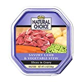 Natural Choice Small Breed Adult for Dog, Color: Lamb/vegetable , Size: 3.5 OUNCE, Count: 24