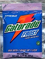 Gatorade Frost 2.12 oz. packet (makes 1 Qt) - Riptide Rush - 24/pack