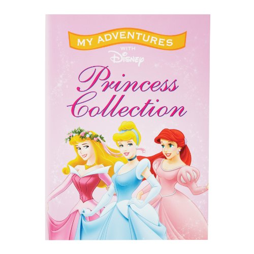 Personalized Disney Princess Collection Book front-102805