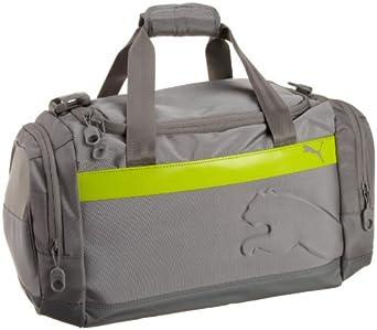 PUMA Men's Duffel Bag, Gray, One Size