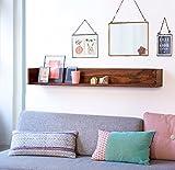 Mart n Art Sheesham wood Wall Shelf