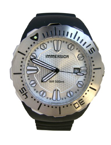 Immersion IM6993 Gents Watch Automatic Analogue Grey Dial Black Plastic Strap