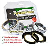 Steering Head Bearings set (including the Top & Bottom Seals!) to fit: Honda CG125 All Models Steering Head Bearings & Seals