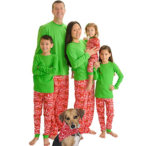 Christmas Cheer Knit Family Matching Loungesets By Sleepytimepjs (12-18M) front-1014085