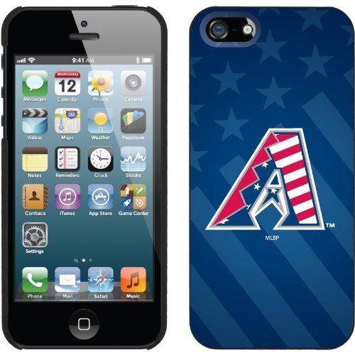 Great Price Arizona Diamondbacks - USA Blue design on a Black iPhone 5 Thinshield Snap-On Case by Coveroo