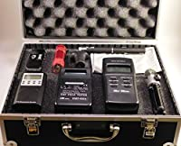 Ghost Hunt Kit - Spirit Box - 822A & MEL EMF Meters - Recorder - Case & More