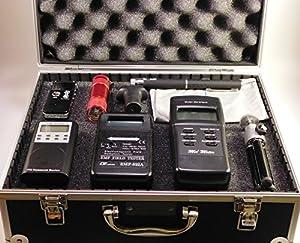 Ghost Hunt Kit - Spirit Box - 822A & MEL EMF Meters - Recorder - Case & More