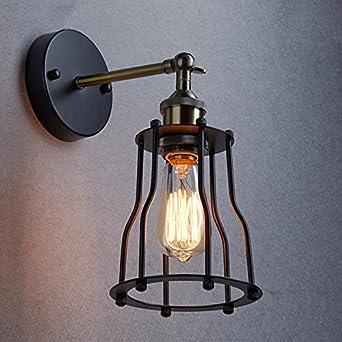YOBO Antik Wandleuchte Anlage Industrie Edison Design Klassisch Nostalgie  Für E27 Lampe Licht Glühbirne