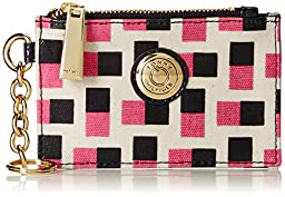 Tommy Hilfiger Coin Logo Wallet, Petunia/Black, One Size