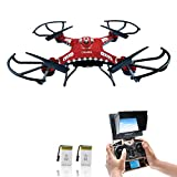Potensic 5.8 GHz Monitor FPV Drone LCD F183D RTF RC Quadcopter with HD Camera