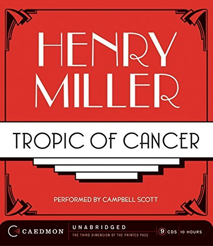 Tropic of Cancer CD by Henry Miller (2008-09-09)