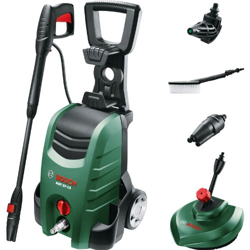 Bosch AQT 37-13 PLUS Electric Pressure Washer with Patio Cleaner 130 Bar 1700w 240v