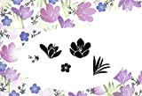 Card-io Crocus Garden Peg Stamps