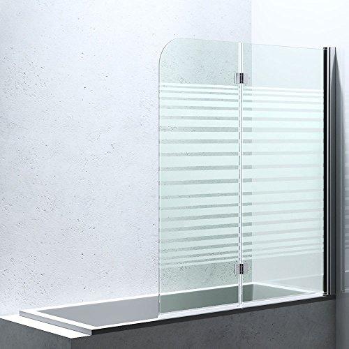 badewannen duschwand cortona140sr8 bxh 117x141cm aus esg sicherheitsglas in teilsatiniert. Black Bedroom Furniture Sets. Home Design Ideas