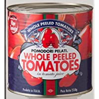 朝日 イタリア産 ホールトマト缶詰 2550g