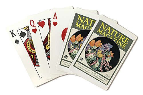 Nature Magazine - View of Flowers (Playing Card Deck - 52 Card Poker Size with Jokers) (Flower Press And Nature Cards compare prices)