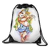 FUNKYLICIOUS Drawstring Polyester Vignaharta Design (Multicolour)