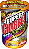 Labrada Nutrition Super Charge! Xtreme N.O., Pre-Workout Energy Drink Mix, Orange, 1.76-Pound Tub