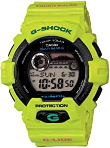 Casio G-Shock G-Lide Series w/ Tidal Graph - Multiband 6 Solar Powered Men's Watch - GWX-8900C-3JF (Japan Import)