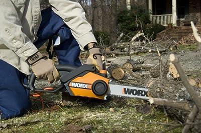 WORX WG304.1 Chain Saw 18-Inch 4 HP 15.0 Amp
