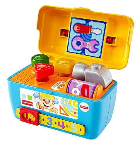 Amazon.com: Fisher-Price Busy Learning Tool Bench: Toys ...