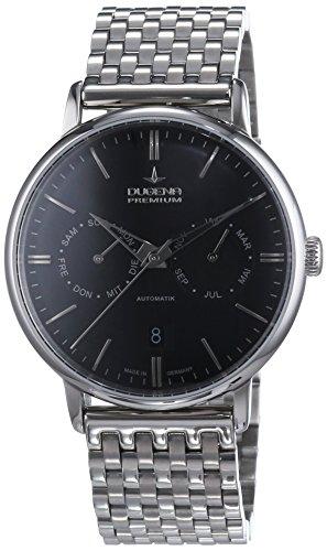 Dugena  Dugena Premium - Reloj de manual para hombre, con correa de acero inoxidable, color plateado