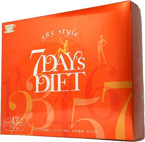 385インターナショナル ミヤコ式セブンデイズダイエット 7包入