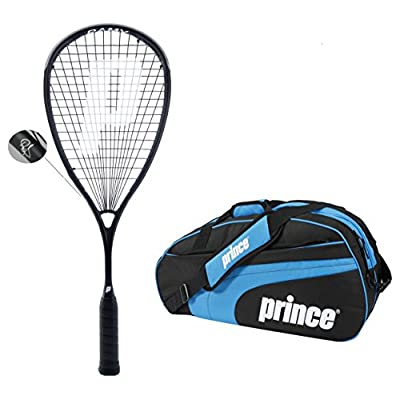 Prince Squash Racquet Warrior 600 with Kitbag