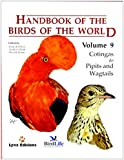 Handbook of the Birds of the World: Cotingas to Pipits and Wagtails