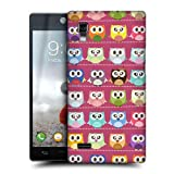 Head Case Designs Pink Pattern Kawaii Owl Protective Snap-on Hard Back Case Cover for LG Optimus L9 P760 P765 P768