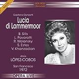 echange, troc Donizetti, Pavorotti, Sills - Lucia Di Lammermoor