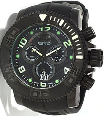 INVICTA THE PRO DIVER SEA HUNTER SWISS QUARTZ CHRONO WATCH 0414