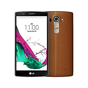 LG G4 H815 Factory Unlocked Cellphone, International Version No Warranty, 32GB, Brown Leather