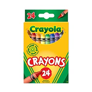 (历史最低)绘儿乐 24色 画笔  Crayola Crayons 24 Count$1.50